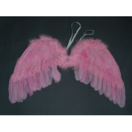 Skrzydła anielskie różowe 30cm x 45cm BS-35