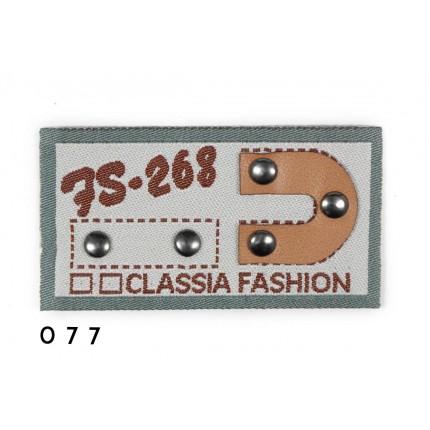 NASZYWKA NA JEANSY classia 077  APL-104
