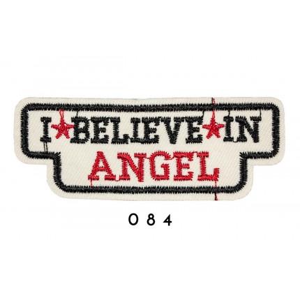 Łatka termo przylepna I BELEVE IN ANGEL 084 APL-104