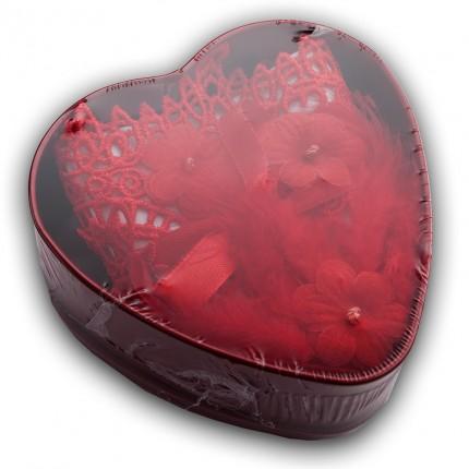 Walentynkowy BOX prezentowy maska