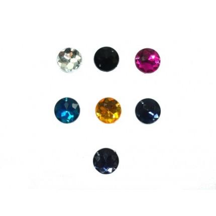 Kamienie akrylowe okrągłe lan 16mm