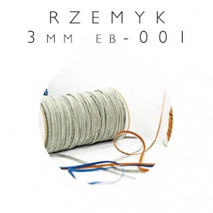 Rzemyk syntetyczny cienki 3mm EB-001