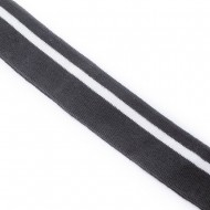 SE-13 3,5cm ŚCIĄGACZ ELASTYCZNY czarny