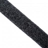 SE-18 3-3,5cm ŚCIĄGACZ ELASTYCZNY czarny