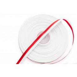 Wstążka Rypsowa Biało-Czerwona WPL-10mm