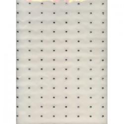 Dżety kwadraty srebrne 4mm hfk-ozdoby kwadrat