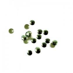 Blaszki termoprzylepne kółka zielone 6mm hfm-02/g