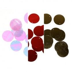 Cekiny luzem 30mm różne kolory