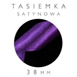 Tasiemka Satynowa 38mm Jednostronna