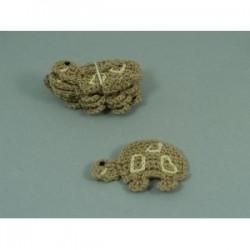 aplikacja szydełkowa żółw ks-71