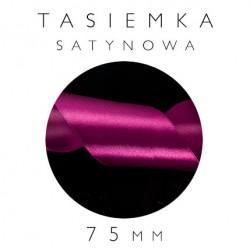 Tasiemka Satynowa 75mm Jednostronna