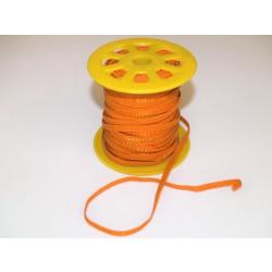 Guma rypsowa dziana 5mm pomarańczowy 45m.