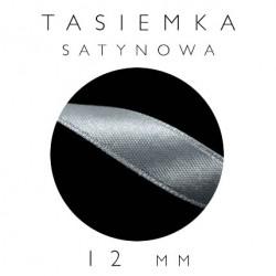 Tasiemka Satynowa 12mm Jednostronna