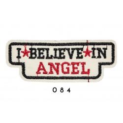 Łatka termo przylepna I BELEVE IN ANGEL 084 APL-104 25szt.