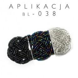 Aplikacja z koralików BL-038 10szt.