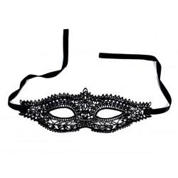 Maska karnawałowa koronkowa czarna