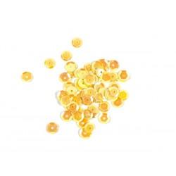 Cekiny luzem 8mm kol. 90 żółty opal CL-02