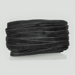 Tasiemka aksamitka welurowa 20mm czarna op. 8,5m.