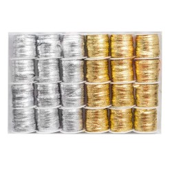 złoty + srebrny