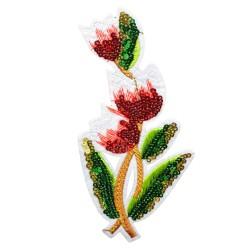 Aplikacja haft  kwiaty APL-359 25szt.