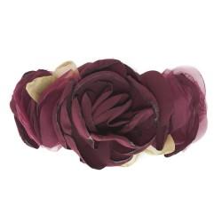 Aplikacja bordowe kwiaty BL-011 w. 5