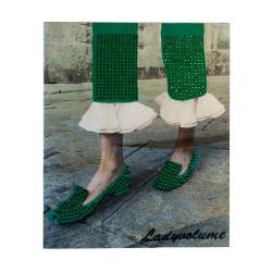 Naklejka odzieżowa APL-478 zielony
