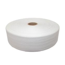Taśma bawełniana 40mm biała 50mb.