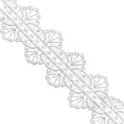 Taśma gipiurowa biała TK-043