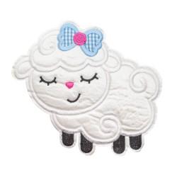 Naszywka haft owieczka APL-571 20 szt.