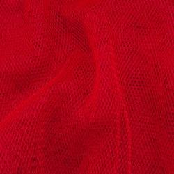 Tiul dekoracyjny w kuponach 165cm x 100cm czerwony