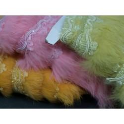 Taśma ozdobna z futerkiem kolory fur-02