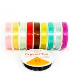Gumka silikonowa 0.8mm kolory 10szt.