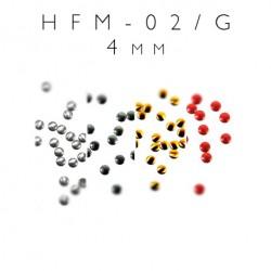 Blaszki termoprzylepne kółka HFM-02/G 4mm