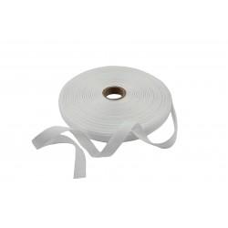 Taśma bawełniana 10mm biała 50mb.