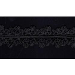 Taśma gipiurowa czarna TK-051 12,5m.