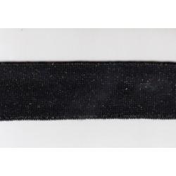 SE-18 3-3,5cm ŚCIĄGACZ ELASTYCZNY czarny+złoty