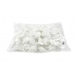 Kwiaty piankowe białe KMO-063 100szt.