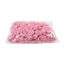 Kwiaty piankowe różowe KMO-063 100szt.