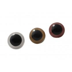 Oczy bezpieczne z zatyczką 20mm kolor