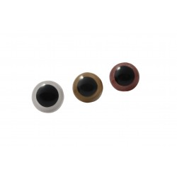 Oczy bezpieczne z zatyczką 12mm kolor