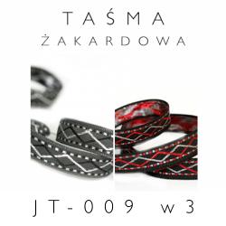 Taśma żakardowa JT-009 wzór 3