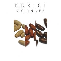 Koraliki drewniane cylindryczne kdk-01