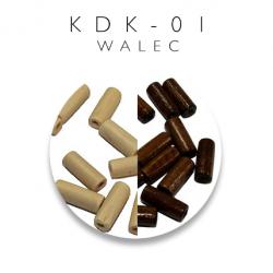 Koraliki drewniane walec KDK-01