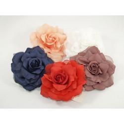 Kwiat róża spinka gumka broszka KDO-472 w.3
