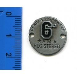 Emblemat blaszka KL-076 w. 15 1szt.