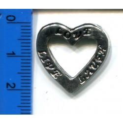 Biżuteryjna z zawieszka serduszko KL-300 w. 17