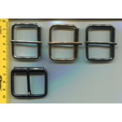 Klamra metalowa paskowa męska/damska KL-392 20szt.
