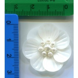 Aplikacja kwiat PVC KMO-021-3 25 szt.