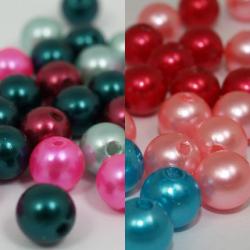 Koraliki plastikowe kulki 1 cm KOR-05