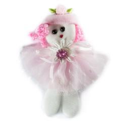 Aplikacja laleczka różowa LD-003 003